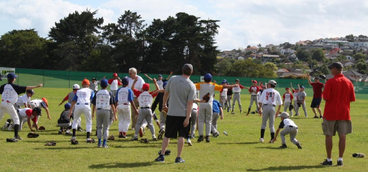 Baseball camp fundamentals